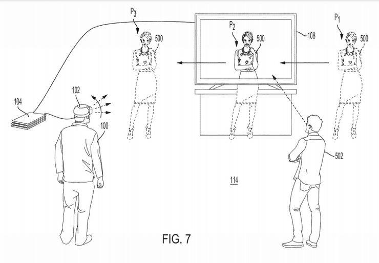 索尼PSVR新专利曝光:将引入AR功能,将游戏体验延伸到现实空间中