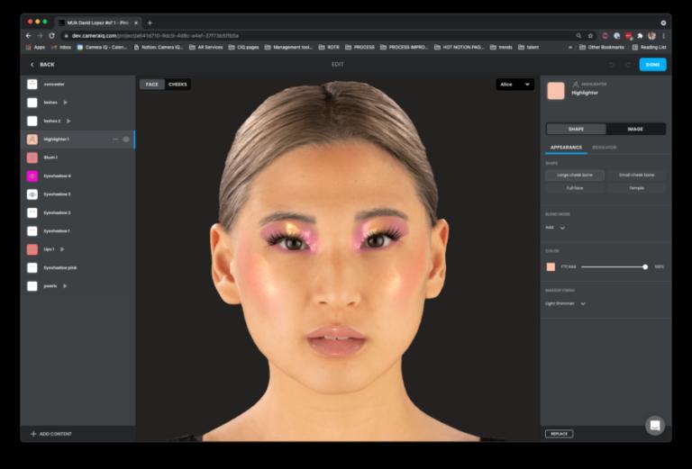 Camera IQ 推出无代码设计平台,帮助品牌打造 AR 虚拟试穿体验