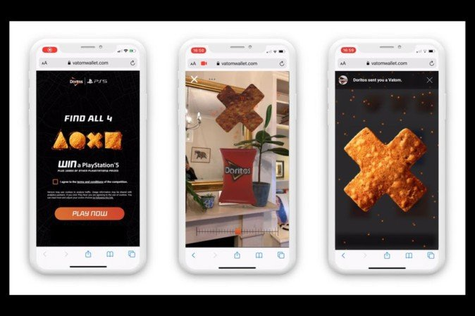 多力多滋AR营销活动使用人数达1100万以上,活动点击次数过亿