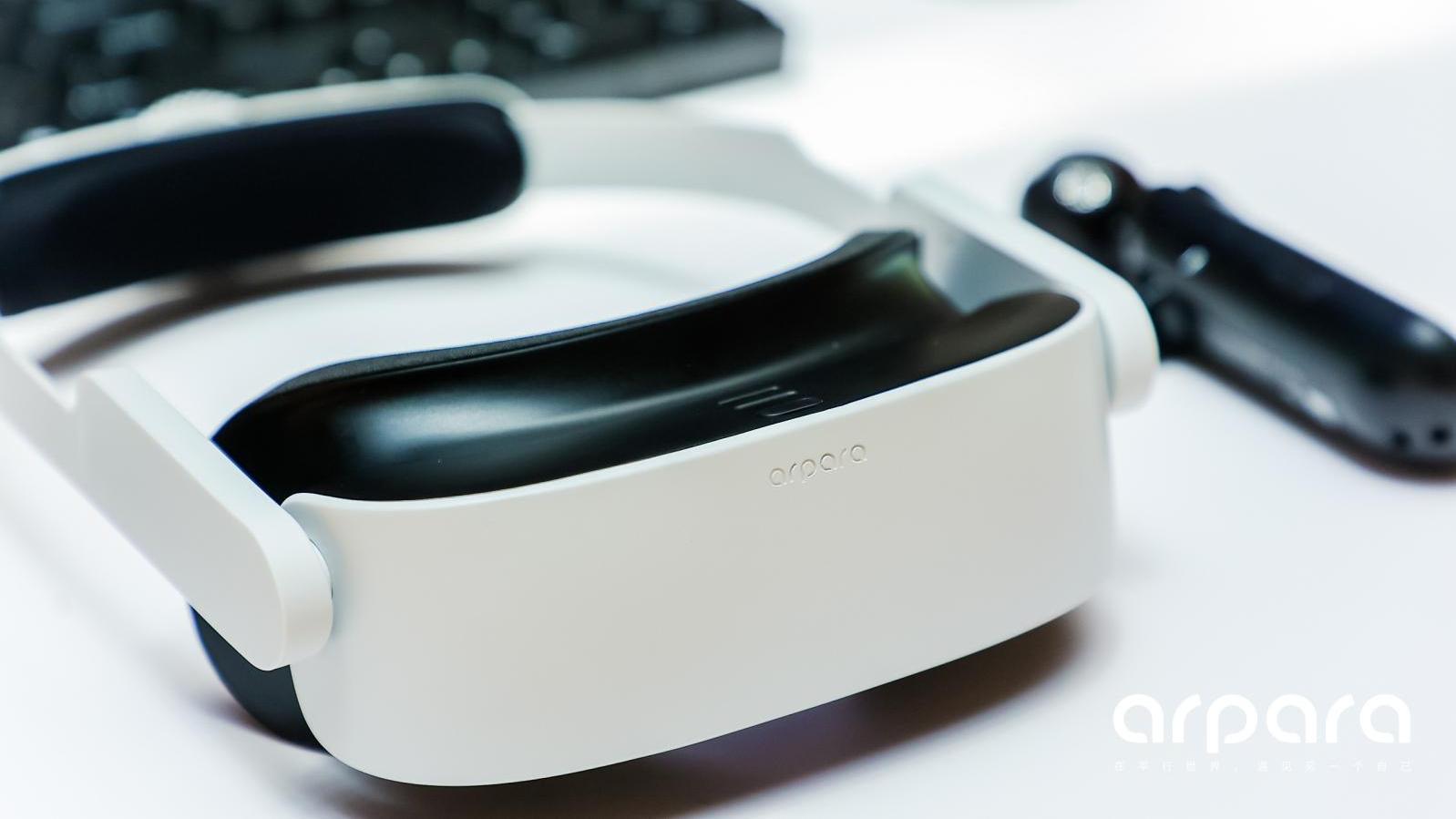 【真机实测】重量仅200g,高清5K VR头显arpara究竟如何?