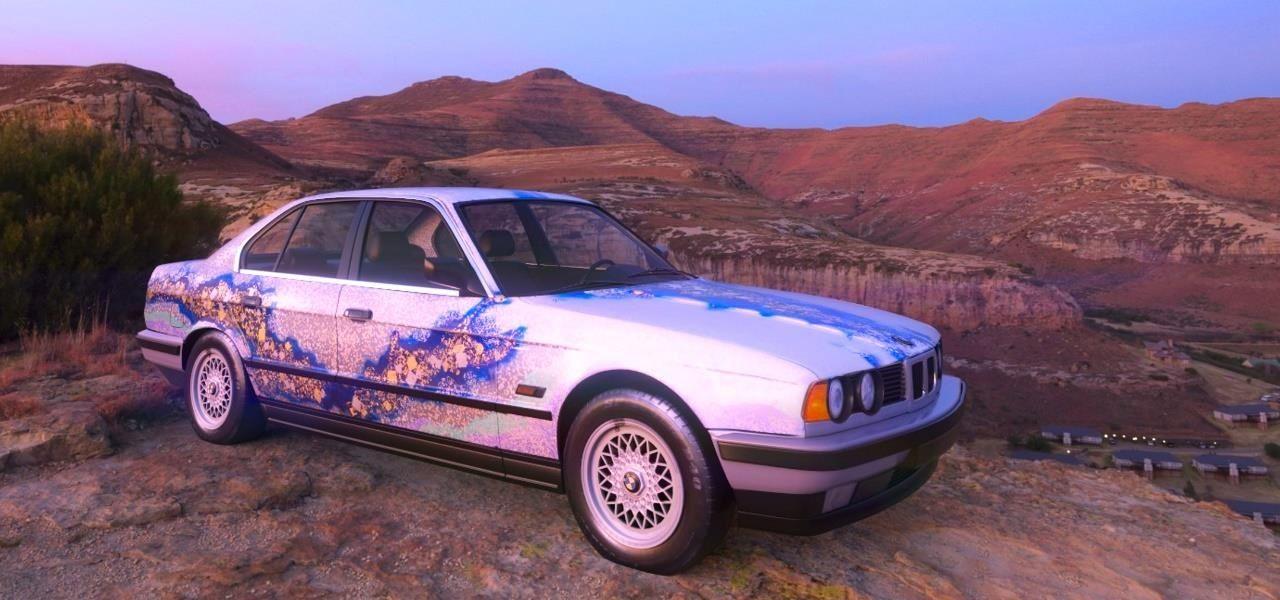 Acute Art应用推出宝马AR艺术车,Jeff Koons等艺术家作品参与展示
