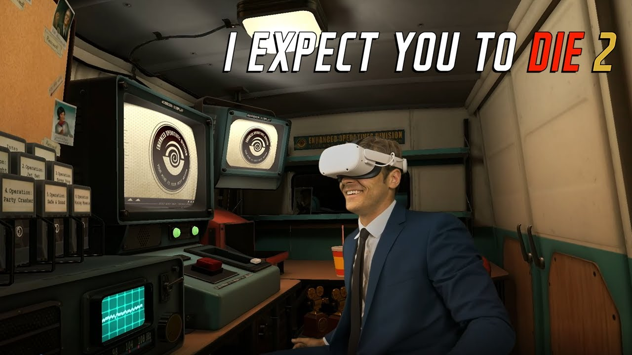 VR解谜游戏《I expect you to die 2》将于8月24日上线Oculus Quest和Rift平台