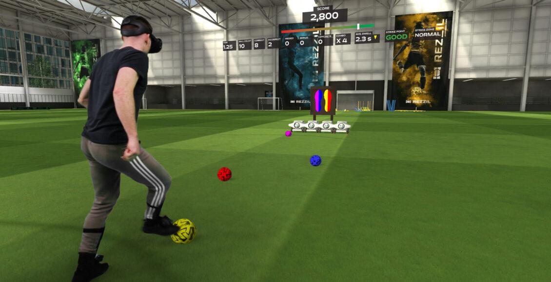 VR足球健身游戏开发商Rezzil宣布完成200万英镑融资,知名球星蒂埃里亨利参投