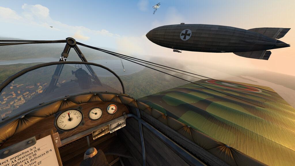VR飞行模拟游戏《Warplanes: WW1 Fighters》将于7月29日登陆Quest Store