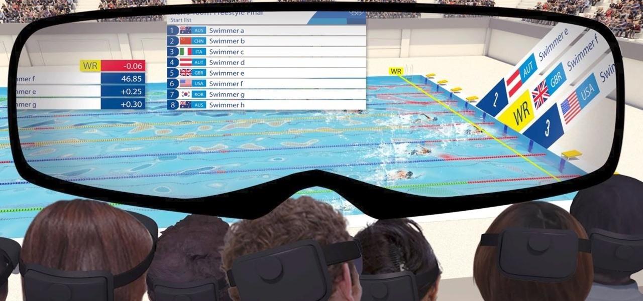 日本电信巨头NTT Docomo引入AR设备微软HoloLens 2观看奥运游泳项目