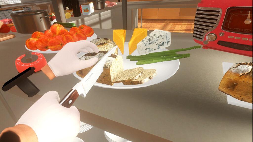 VR游戏《烹饪模拟器VR》将于7月29日上线Steam平台