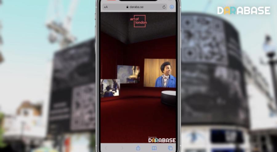 """AR广告平台Darabase推""""伦敦艺术""""计划,将用AR技术改造皮卡迪利广场"""