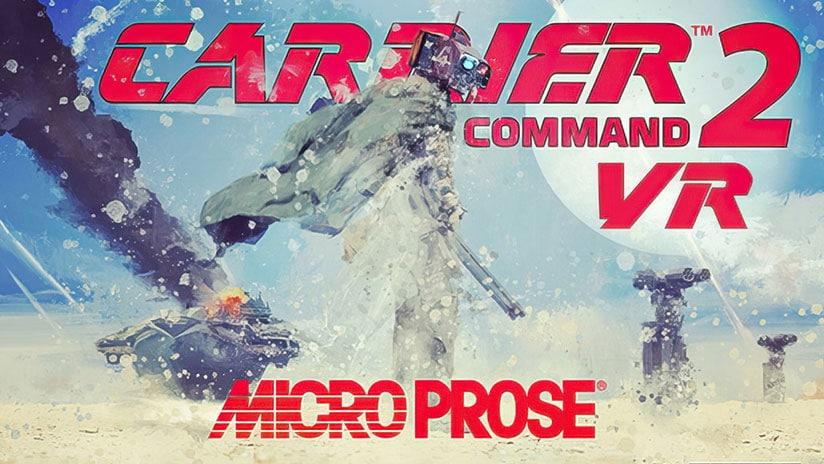 即时战略游戏《Carrier Command 2》将于8月11日上线,且全面支持VR