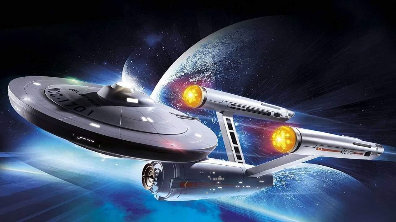 """玩具公司Playmobil利用AR应用改造《星际迷航》""""企业号"""""""