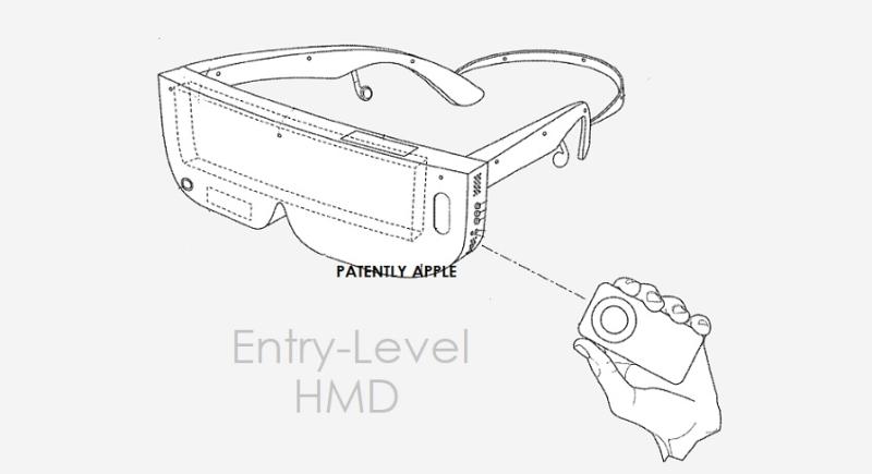 苹果新专利:基于iPhone的入门级头显,可用于iTunes、电影、游戏和应用程序等
