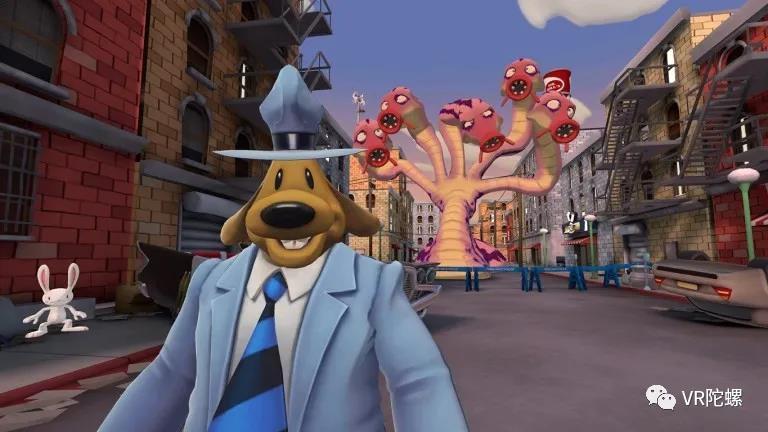 爷青回,VR版《山姆&麦克斯》带你梦回90年代丨游戏测评