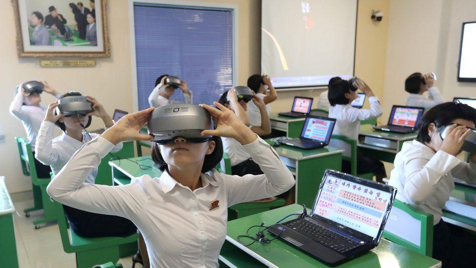 朝鲜将VR/AR作为教学辅助工具引入课堂