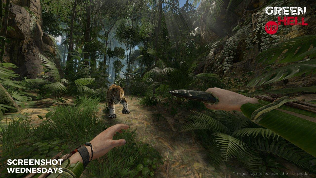 模拟生存游戏《Green Hell VR》将推迟至2022年第一季度发布