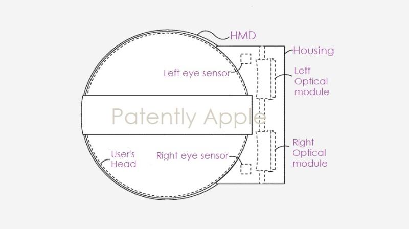 苹果新专利:未来HMD将配备具有压力缓解功能的光学模块