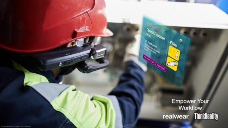 联想宣布与RealWear达成合作,将扩大其企业XR平台ThinkReality硬件支持范围