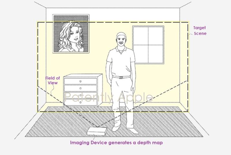 苹果新专利:利用视觉惯性测距技术为iPhone等设备增强实时3D成像功能