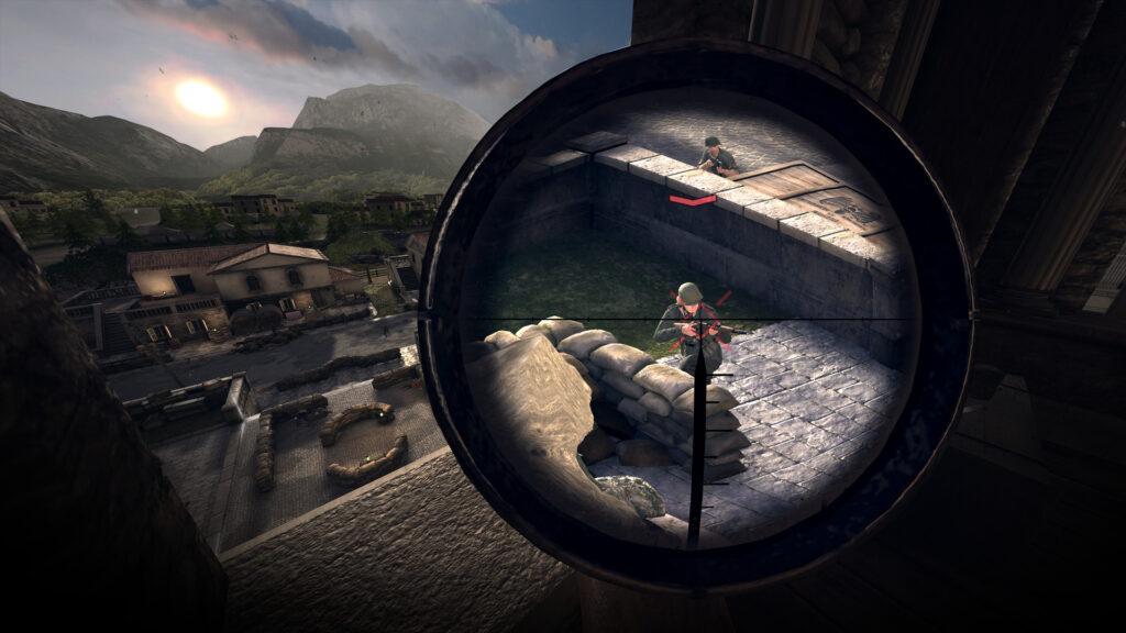 《狙击精英VR》重大更新:自定义难度和BHaptics支持