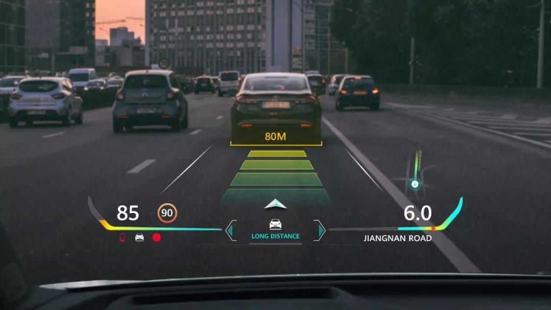 华为发布汽车AR HUD技术,可将前挡风玻璃变为智能屏幕