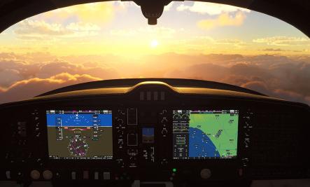《微软飞行模拟器》将于11月中旬开始支持VR控制器