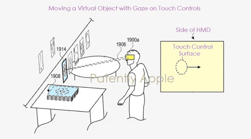 苹果新专利:未来HMD可支持用户通过注视、触摸、手势及身体姿势操控设备