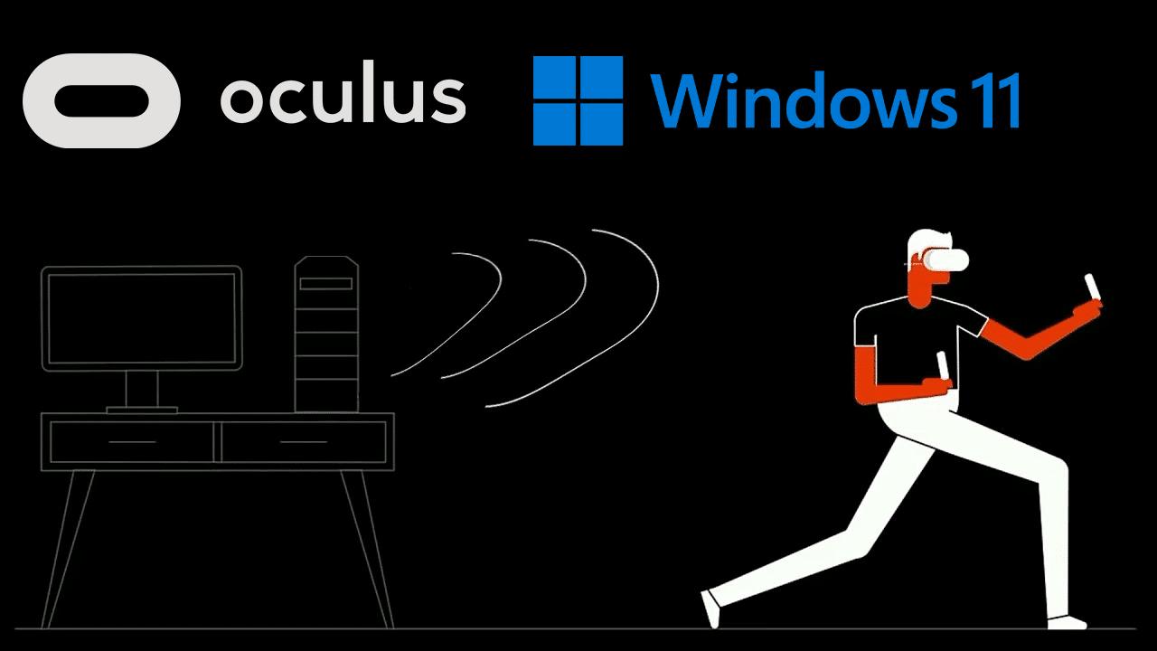 用户反馈更新至Windows 11后,使用Oculus(Air)Link会导致掉帧