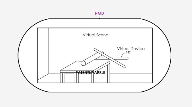 苹果新专利:未来HMD或将配备互动计算系统及控制设备,可提供真实物理反馈